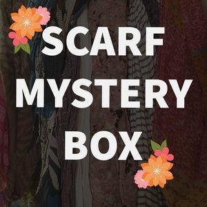 SCARF MYSTERY BOX, SCARF GRAB BAG